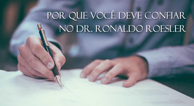 Dr. Ronaldo Roesler