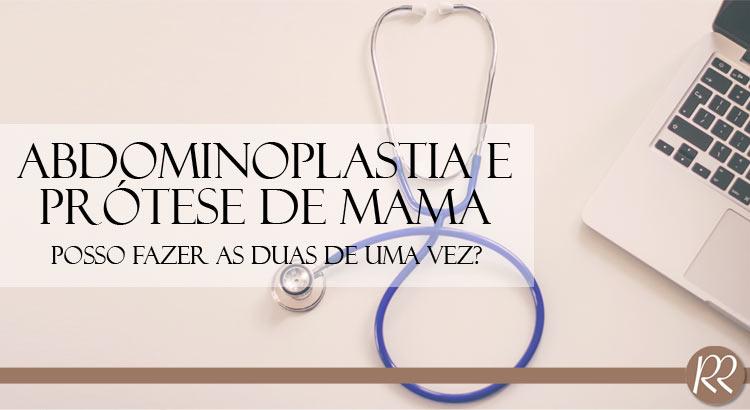 Prótese Mama, Cirurgia Abdômen
